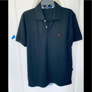 Ralph Lauren 100% Cotton Black Polo Shirt